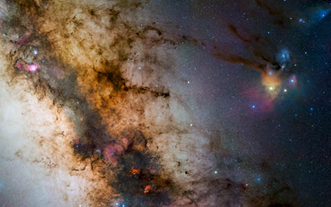 High-resolution desktop wallpaper Starscape by Chris