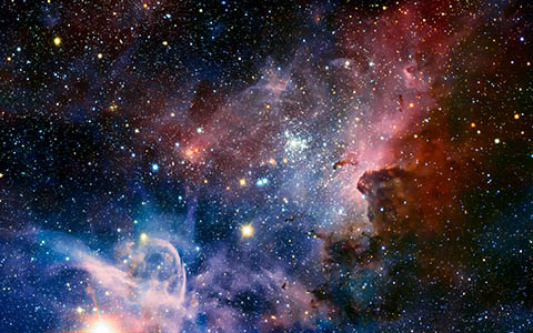 High-resolution desktop wallpaper Carina Nebula by Christopher