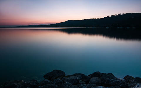 High-resolution desktop wallpaper Lake Murten by xys