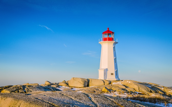 High-resolution desktop wallpaper Peggy's Cove Lighthouse by ptrudeau