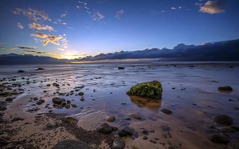 High-resolution desktop wallpaper Ka'anapali Shores Sunset by Jeffery Hayes