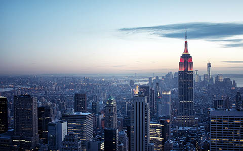 High-resolution desktop wallpaper Top of the Rock by BenWall