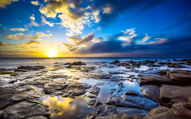 High-resolution desktop wallpaper Kapalua Sunset by Jeffery Hayes