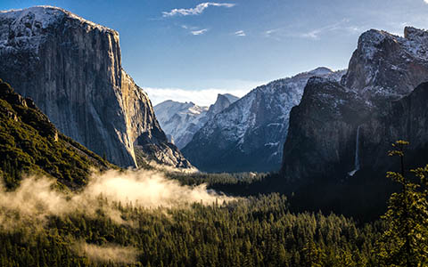 High-resolution desktop wallpaper Good Morning Yosemite. by wampics