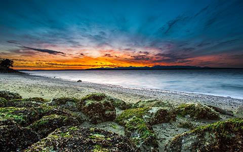 High-resolution desktop wallpaper Sky On Fire by Jeffery Hayes