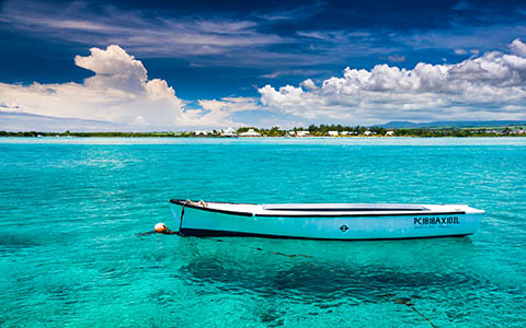High-resolution desktop wallpaper Blue Bay at Mauritius by martinkup.cz