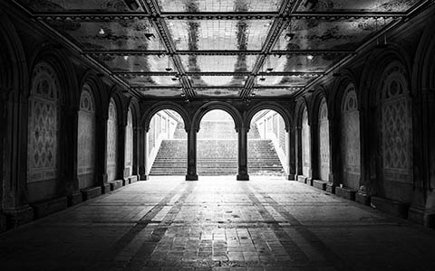 High-resolution desktop wallpaper Bethesda Arcade - Central Park by kenchie