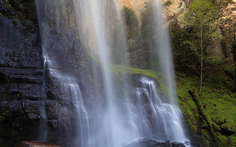 High-resolution desktop wallpaper Silver Falls by Robert Bynum