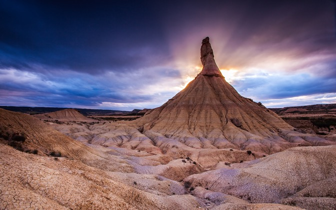 High-resolution desktop wallpaper Bardenas Reales by Wimair