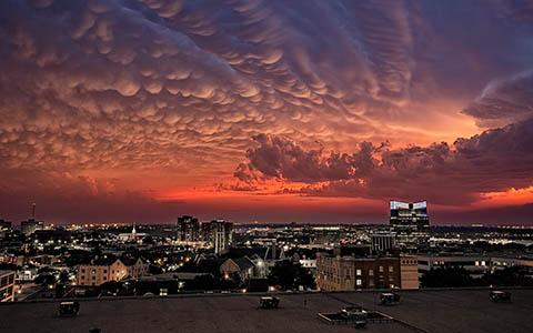 High-resolution desktop wallpaper Storm Clouds by BarrettCampbell
