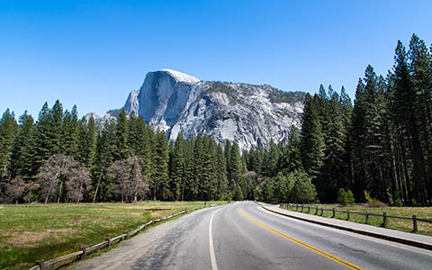 High-resolution desktop wallpaper Half Dome by John