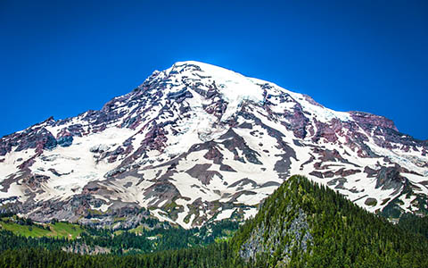 High-resolution desktop wallpaper Mt. Rainier by Jeffery Hayes