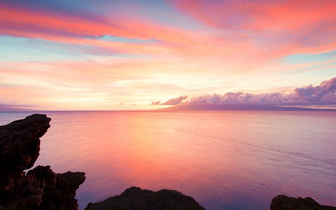 High-resolution desktop wallpaper Maui Pastel by Josh220