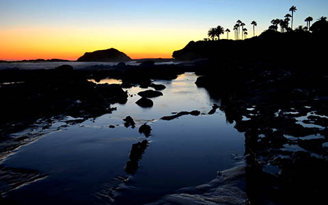 High-resolution desktop wallpaper Laguna Beach Sunset by Jay Gandhi