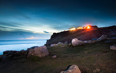 High-resolution desktop wallpaper Land's End, Cornwall by SalmanArif