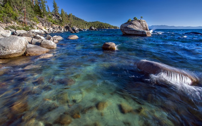 High-resolution desktop wallpaper Lake Tahoe by Robert Bynum