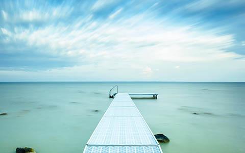 High-resolution desktop wallpaper Peaceful Morning by Chris C.