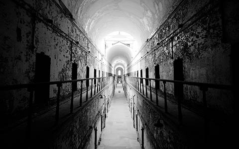 High-resolution desktop wallpaper Eastern State Penitentiary by Nicolas Goulet