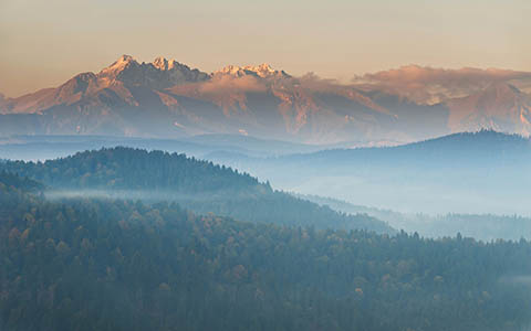 High-resolution desktop wallpaper Tatra mountains by quba123pl