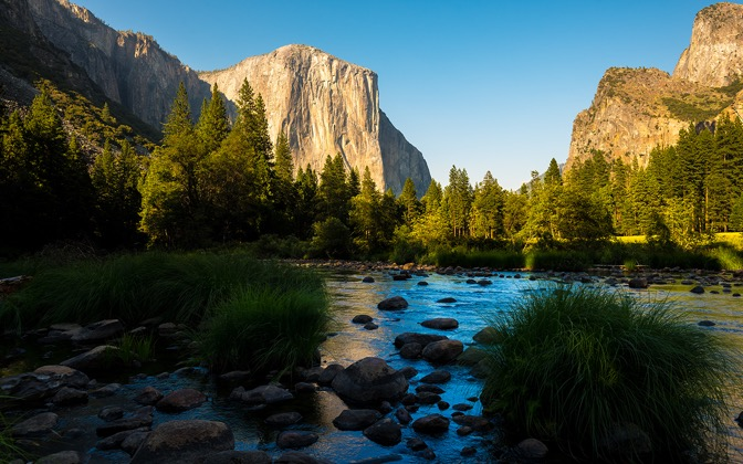 High-resolution desktop wallpaper Yosemite by Youen California
