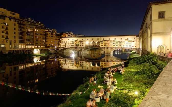 High-resolution desktop wallpaper Ponte Vecchio by Maximilian Winter
