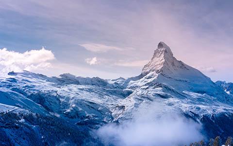 High-resolution desktop wallpaper Freshly Coated Matterhorn by PNWUSA