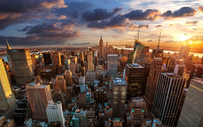 High-resolution desktop wallpaper Rockefeller calls it a day by Dominic Kamp