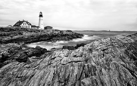 High-resolution desktop wallpaper Portland Head Light by dannyandaluzphotography