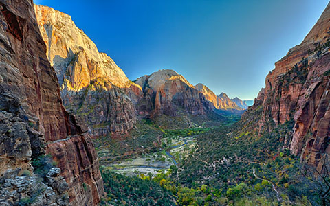 High-resolution desktop wallpaper Angel's Landing by Philippe Clairo