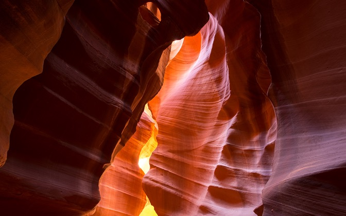 High-resolution desktop wallpaper Antelope Canyon by Youen California