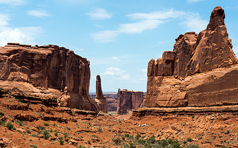 High-resolution desktop wallpaper Arches National Park by Youen California
