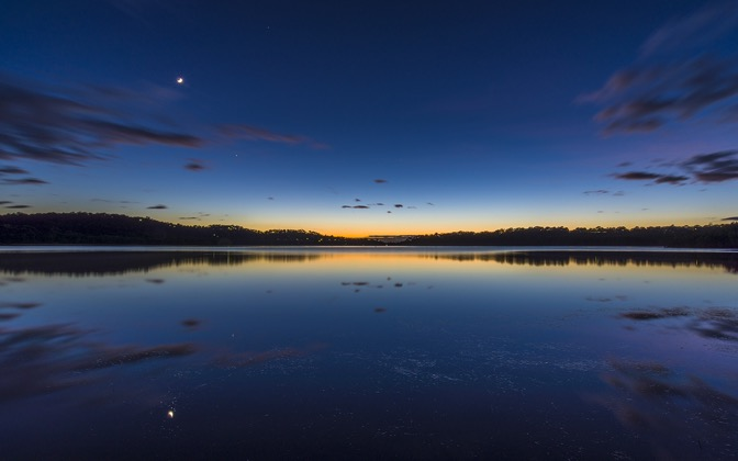 High-resolution desktop wallpaper Narrabeen Lake's Dawn by hiphoper