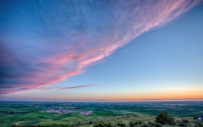 High-resolution desktop wallpaper Washington Plains by BarrettCampbell