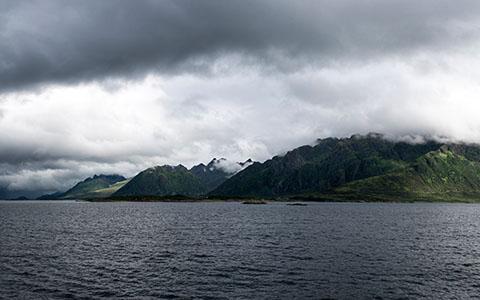 High-resolution desktop wallpaper Norway Coastline by Jan Thoma