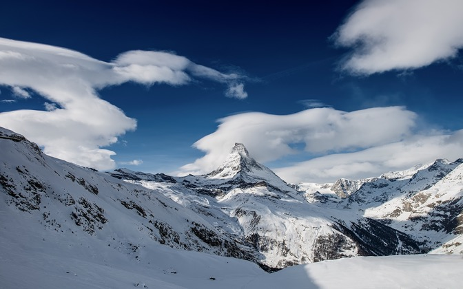 High-resolution desktop wallpaper Matterhorn's Snow Cone by Dominic Kamp