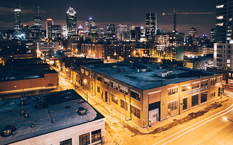 High-resolution desktop wallpaper Montreal Urban Expansion by Boily