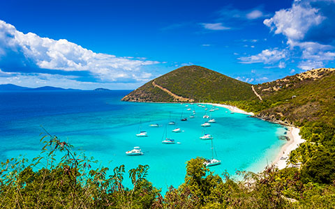 High-resolution desktop wallpaper Jost Van Dyke, British Virgin Islands by anthonyhayward89