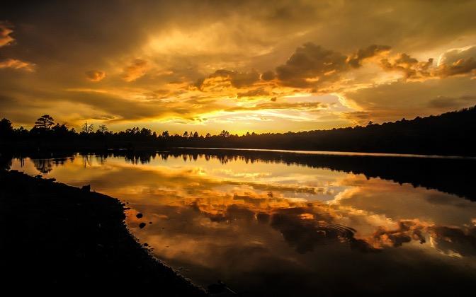 High-resolution desktop wallpaper Kaibab Lake by Youen California
