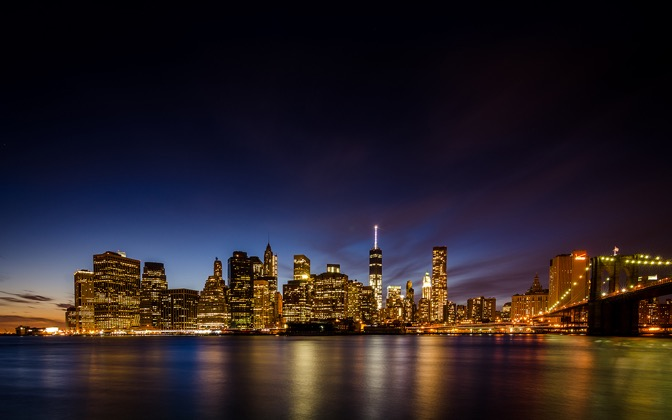 High-resolution desktop wallpaper Smooth Downtown Blues by r1kuexposures