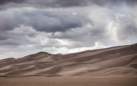 High-resolution desktop wallpaper Great Sand Dunes by brennanvisuals