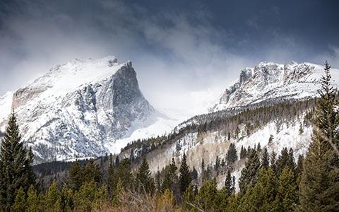 High-resolution desktop wallpaper Rocky Mountain by brennanvisuals