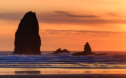 High-resolution desktop wallpaper Rising From Orange by jdphotopdx