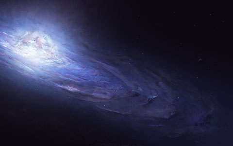 High-resolution desktop wallpaper Andromeda by Starkiteckt