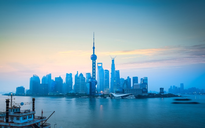 High-resolution desktop wallpaper The Bund Of Shanghai China by bingham008