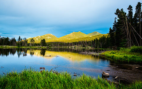 High-resolution desktop wallpaper Rocky Mountain by Youen California