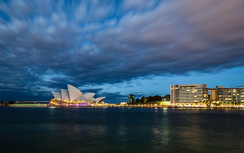 High-resolution desktop wallpaper Sydney Opera House by snowlee