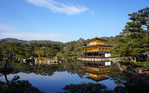 High-resolution desktop wallpaper Golden Pavilion by wiliamw0ng