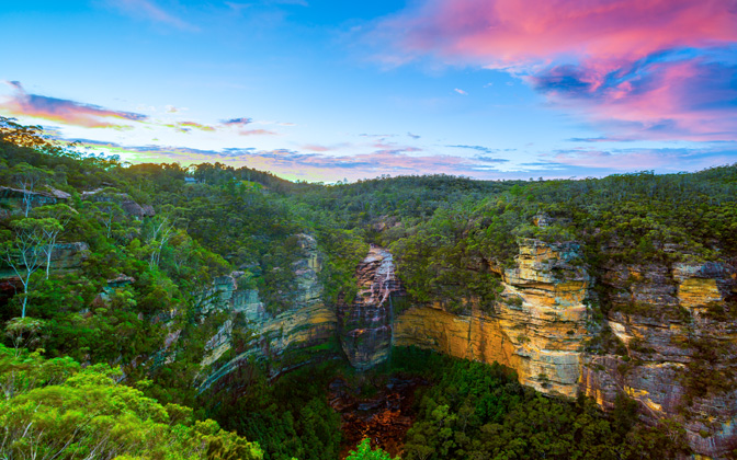 High-resolution desktop wallpaper Wentworth Falls by snowlee