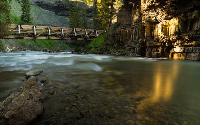 High-resolution desktop wallpaper Montana River by e1howard