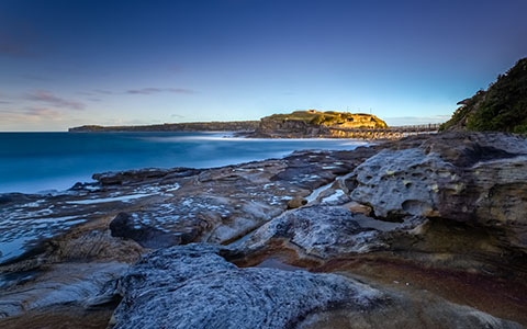 High-resolution desktop wallpaper Bare Island by snowlee